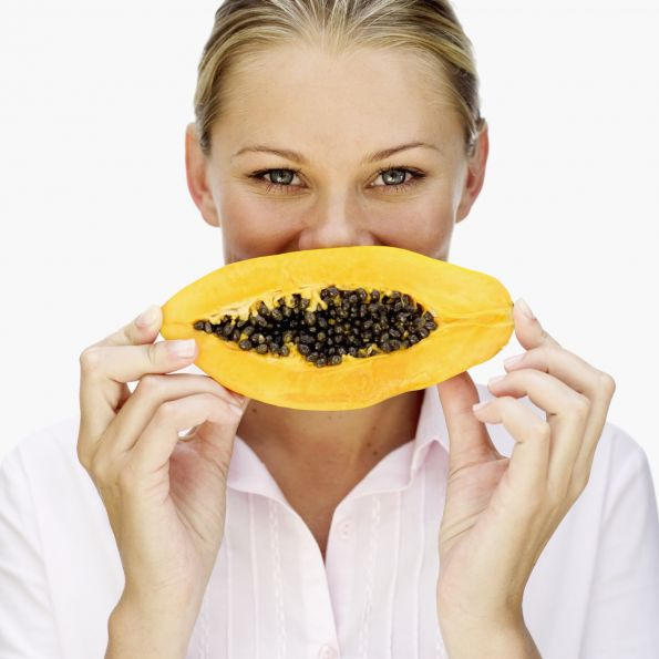 papaya for acne