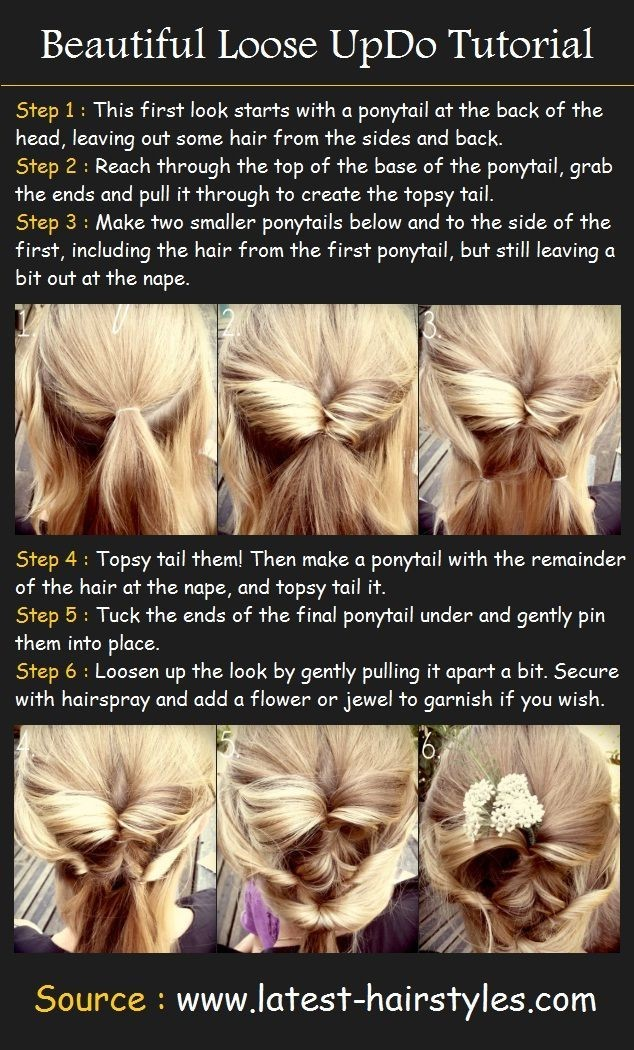 30 amazing prom hairstyles ideas beautiful loose updos tutorial prom hairstyles solutioingenieria Images