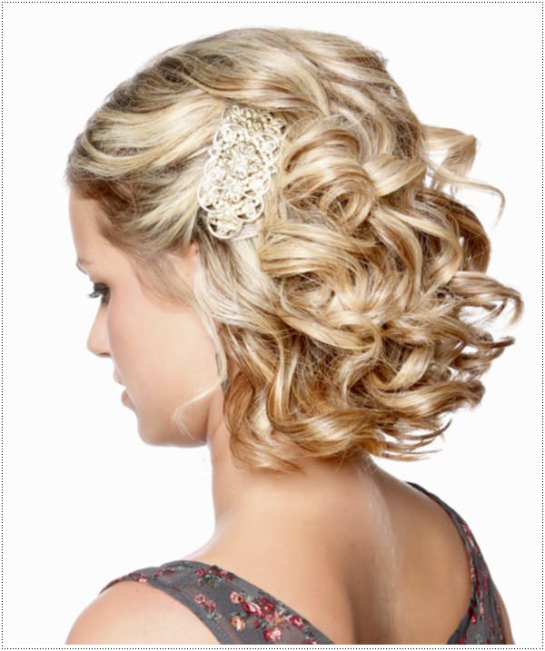 Pleasing Prom Night Hairstyle For Short Hair Best Hairstyles 2017 Short Hairstyles Gunalazisus