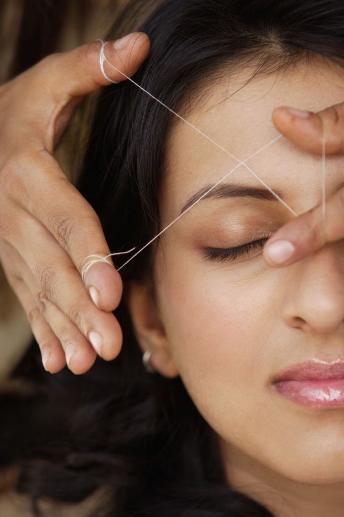 Threading or Waxing