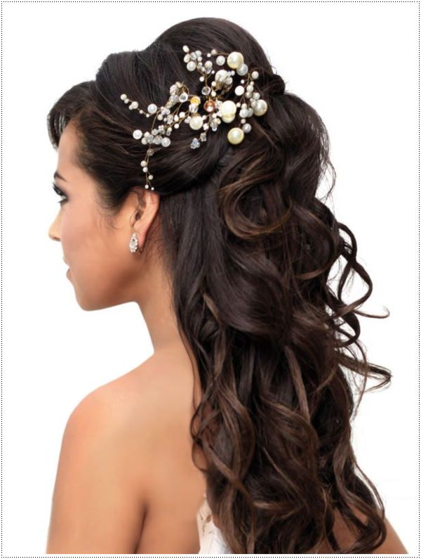 prom hairstyles with hair accessories. Black Bedroom Furniture Sets. Home Design Ideas