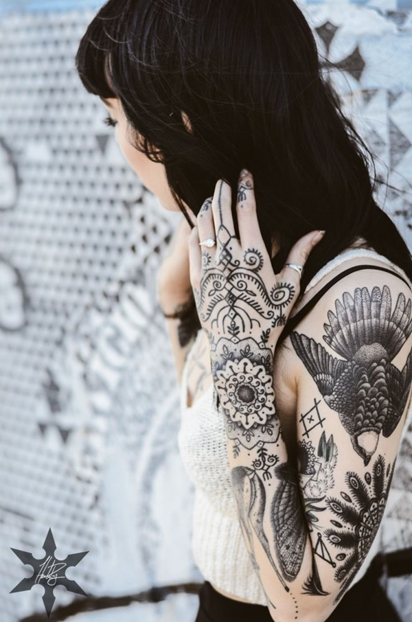 Full Hand Tattoo: 101 Awesome Hand Tattoos That Will Inspire You To Get Inked