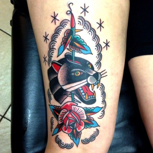 panther tattoo designs (15)