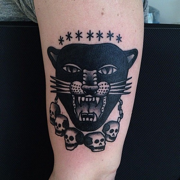 panther tattoo designs (26)