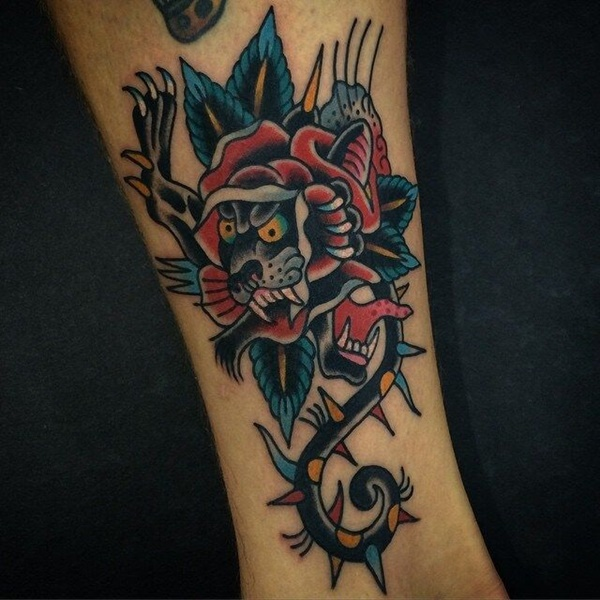 panther tattoo designs (32)