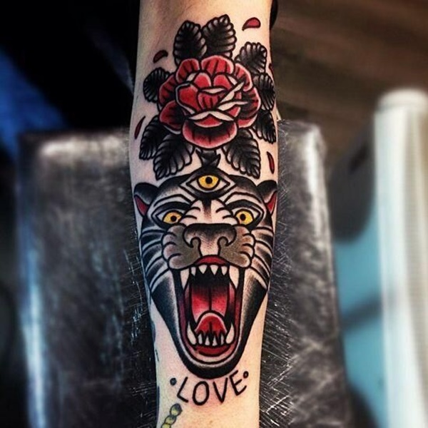 panther tattoo designs (36)