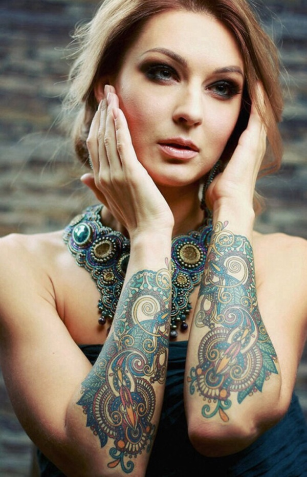99 Passionate Hot Girls With Tattoos