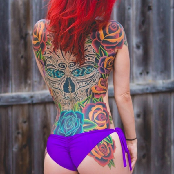 ladies back tattoos (26)