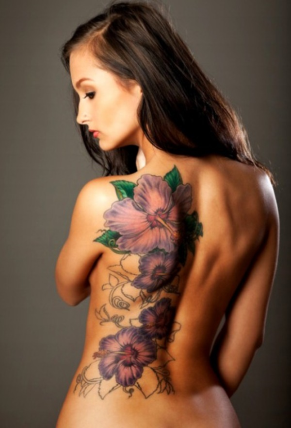ladies back tattoos (27)