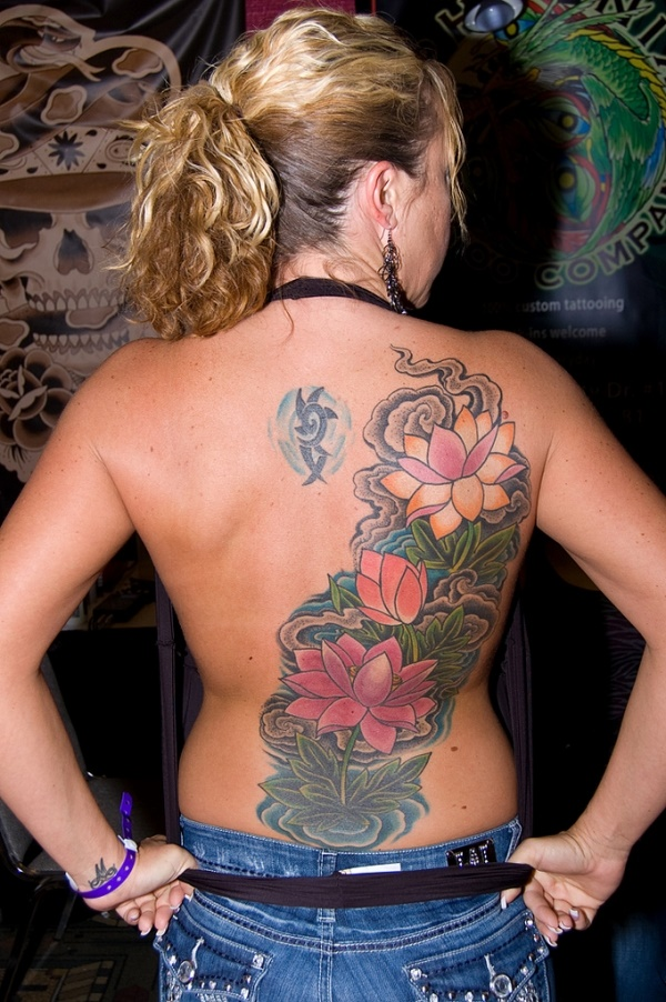ladies back tattoos (29)