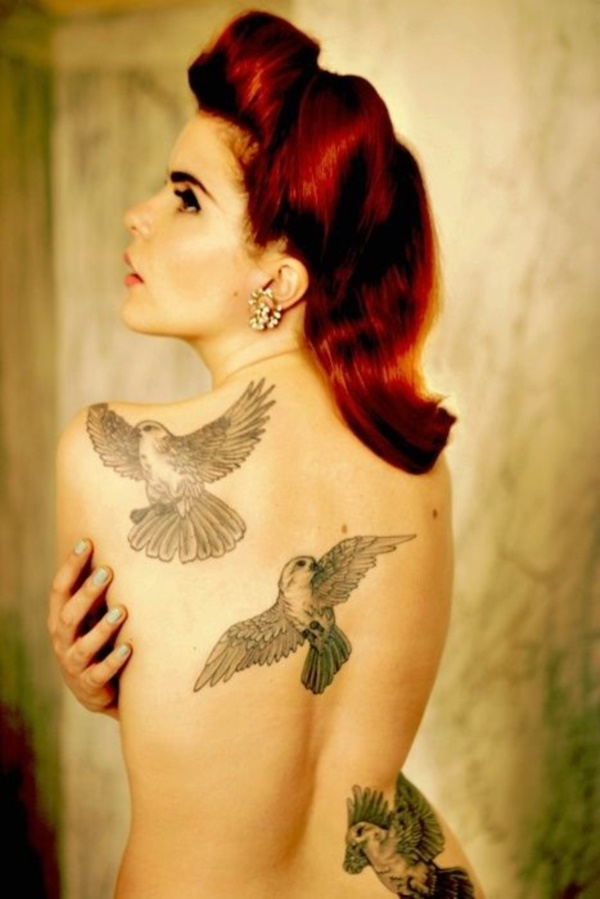 ladies back tattoos (3)