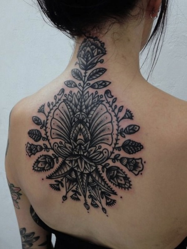 ladies back tattoos (45)