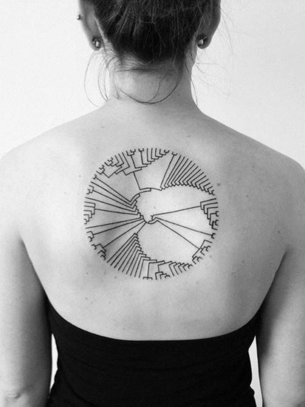 ladies back tattoos (46)