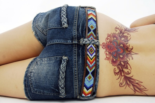 ladies back tattoos (55)