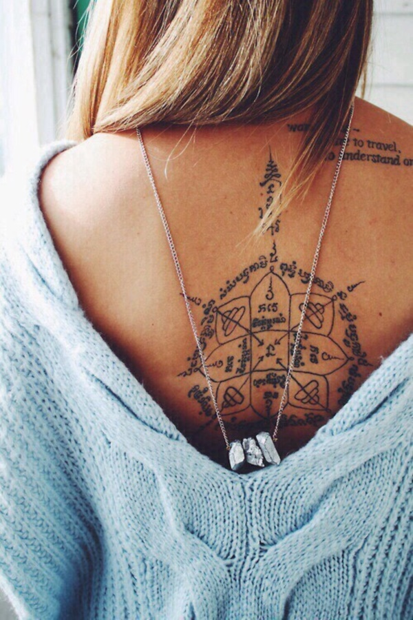 ladies back tattoos (56)