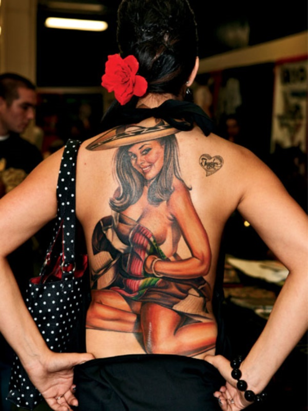 ladies back tattoos (57)