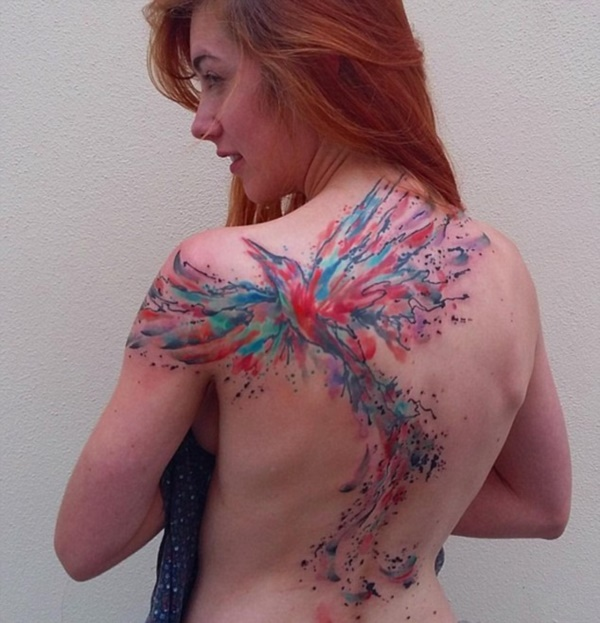 ladies back tattoos (59)