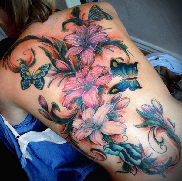 ladies back tattoos (64)