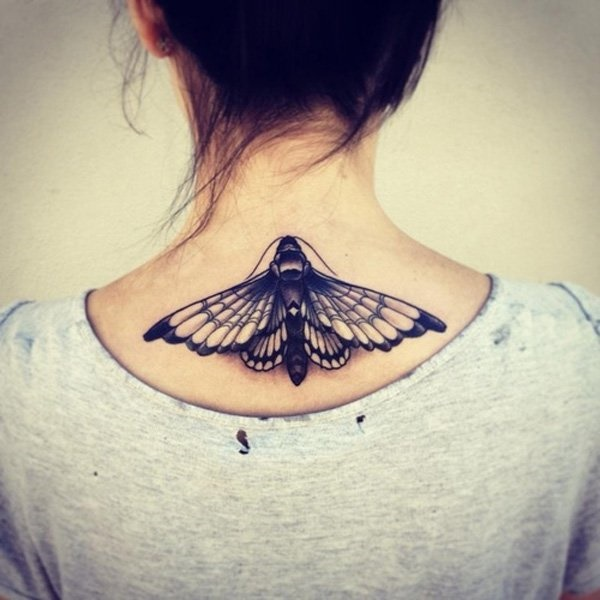 ladies back tattoos (78)