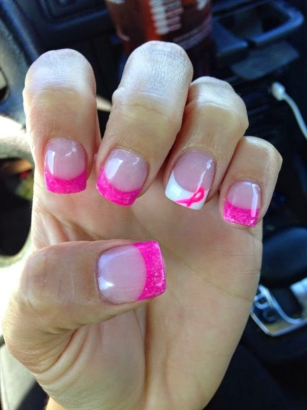 85 Hot Pink Nail Art Designs For Girls