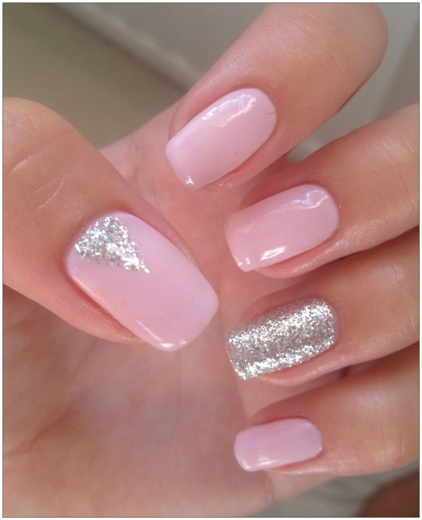 pink nail art designs (7) - 85 Hot Pink Nail Art Designs For Girls