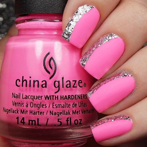 Hot Nail Designs: 85 Hot Pink Nail Art Designs For Girls