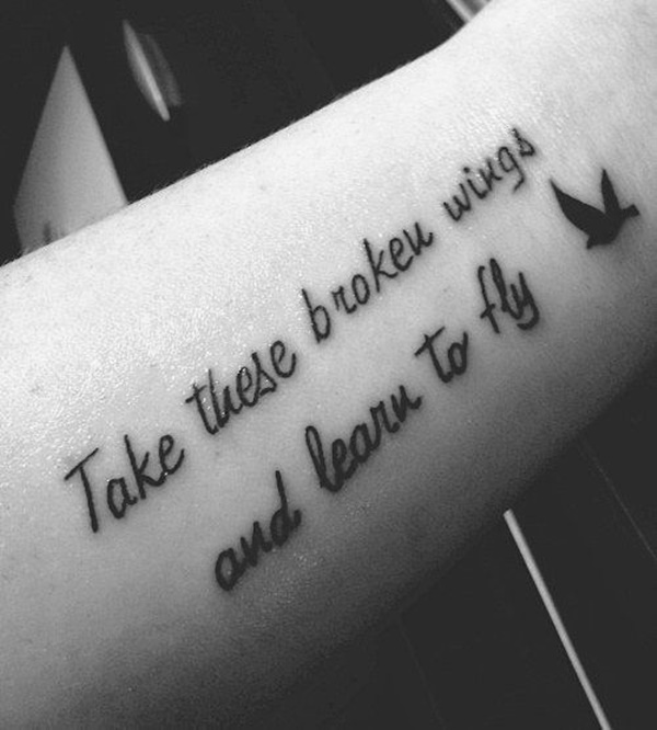 115 Beautiful Quotes Tattoo Designs To Ink