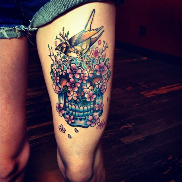 67 Creative Thigh Tattoos That Will Leave You Wanting More